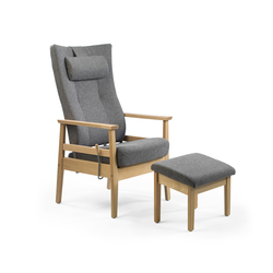 Bo recliner chair | Elderly care armchairs | Helland