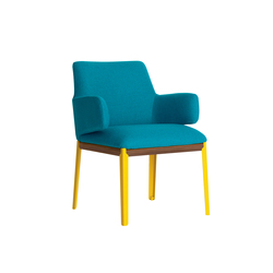Hug armchair smaller side | Visitors chairs / Side chairs | ARFLEX