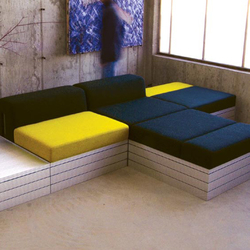 UU37 | Modular seating systems | MuNiMulA