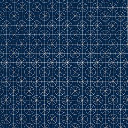 Pinwheel Navy | Wall coverings / wallpapers | LULU DK