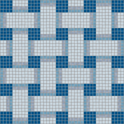 Basketweave Oceano | Mosaicos de pared | Artaic