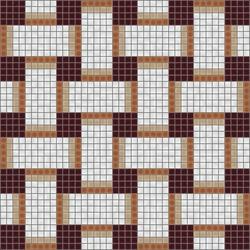 Basketweave Cinnamon | Mosaïques murales | Artaic