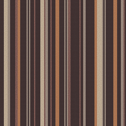 Varied Stripes Espresso | Wandmosaike | Artaic
