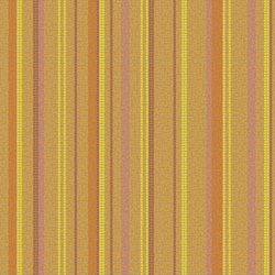Varied Stripes Orangina | Mosaïques verre | Artaic