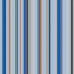 Varied Stripes Seaport | Glass mosaics | Artaic