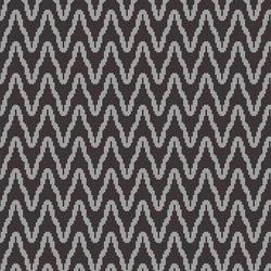 Zulu Weave Black Coral | Glass mosaics | Artaic