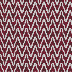 Zulu Weave Burgundy Wine | Mosaicos de pared | Artaic