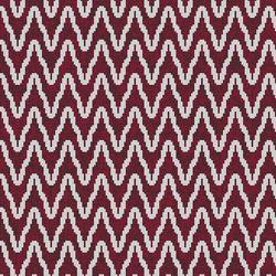 Zulu Weave Burgundy Wine | Mosaïques verre | Artaic