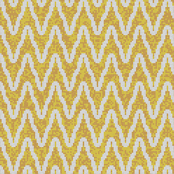 Zulu Weave Golden Rod | Glass mosaics | Artaic