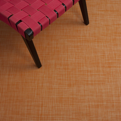 Mini Basketweave Clementine | Rugs / Designer rugs | Chilewich