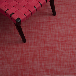 Mini Basketweave Tomato | Rugs / Designer rugs | Chilewich