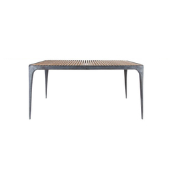 Flow rectangular dining table | Dining tables | Henry Hall Design