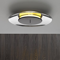 Lunaire Wall and ceiling lamp | General lighting | FontanaArte
