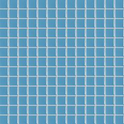 Lisos & Nieblas azul piscina | Glass mosaics | Togama
