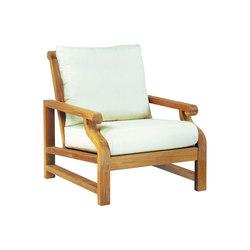 Nantucket Deep Seating Lounge Chair | Poltrone da giardino | Kingsley Bate