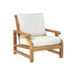 Nantucket Deep Seating Lounge Chair | Sillones | Kingsley Bate