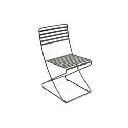 Parc Centre Chair no arms | Sillas de exterior | Landscape Forms