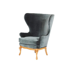 Highland Wingback Chair | Poltrone | Lawson-Fenning