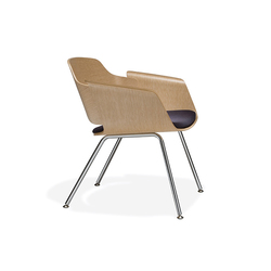 Paz Lounge Chair Four Leg | Sillones lounge | Stylex