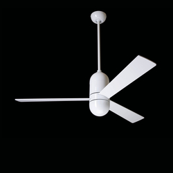 Cirrus gloss white | Ventilatori a soffitto | The Modern Fan