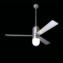 Cirrus brushed aluminum with 352 light | Ventilators | The Modern Fan