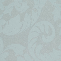 Tiara Scroll Island Blue | Wall coverings | Vycon
