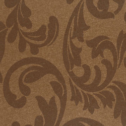 Tiara Scroll Imperial Brown | Wall coverings / wallpapers | Vycon