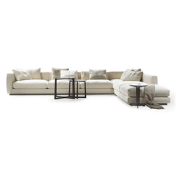 Pleasure sectional sofa | Asientos modulares | Flexform
