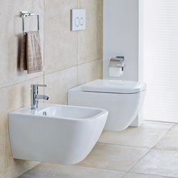 Happy D.2 - Wand-WC, -Bidet | Klosetts | DURAVIT