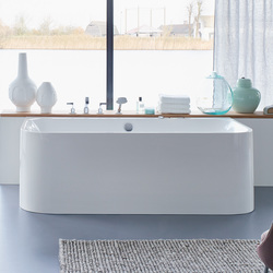 Happy D.2 - Bathtub | Wall-mounted baths | DURAVIT