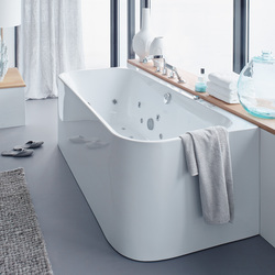 Happy D.2 - Bathtub | Hydromassage baths | DURAVIT