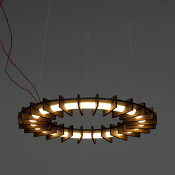 OLAMP RAW XL | Suspended lights | jacob de baan
