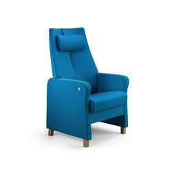 Duun recliner chair | Elderly care armchairs | Helland