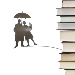 Decor volant reading in the rain |  | Opinion Ciatti