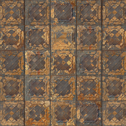 Brooklyn Tins Wallpaper TIN-08 | Wall coverings | NLXL