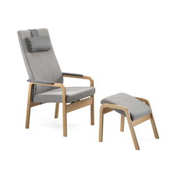 Gent recliner chair | Poltrone | Helland
