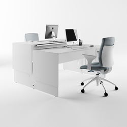 Quaranta5 Lift Up | Individual desks | Fantoni