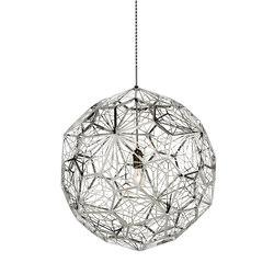 Etch Web Pendant Steel | Iluminación general | Tom Dixon