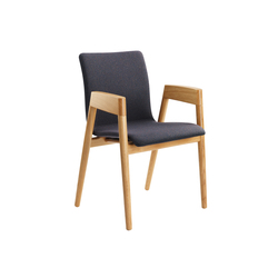 HOLZER chair | Visitors chairs / Side chairs | LÖFFLER
