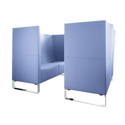 Concept C Lounge | Sedute lounge da lavoro | Klöber