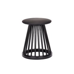 Fan Stool Black | Tabourets | Tom Dixon