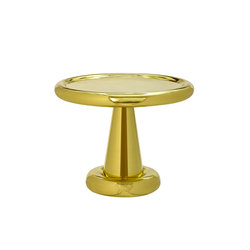 Spun Table Short Brass | Mesas auxiliares | Tom Dixon