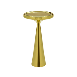 Spun Table - Tall Brass | Side tables | Tom Dixon