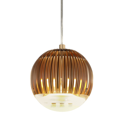 Fin Light Round Copper | General lighting | Tom Dixon
