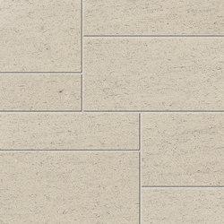 Magma Crema Satin Polished SK Mosaic A | Ceramic mosaics | INALCO