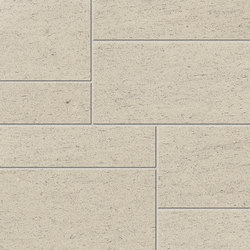 Magma Crema Satin Polished SK Mosaic A | Mosaici | INALCO