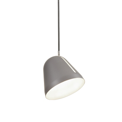 Tilt S pendant light grey | Suspended lights | Nyta