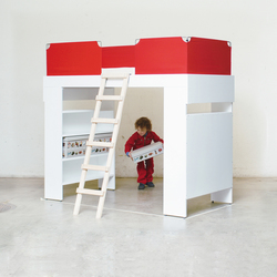 Elevated Bed | Camas de niños / Literas | Minimöbl