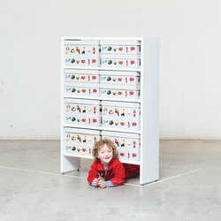 Bookshelf | Kids storage furniture | Minimöbl