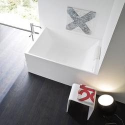 Unico badewanne von rexa design unico einbaubadewanne for Mini badewanne